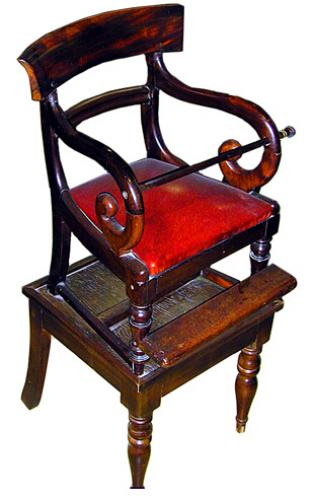 A 19th Century American Victorian Mahogany Child's Chair No. 696