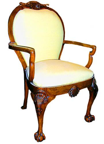 A Fine 18th Century English George I Walnut Armchair No. 170