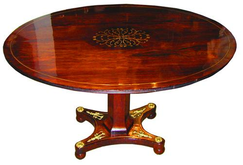 An 18th Century Continental Rosewood Table No. 2028