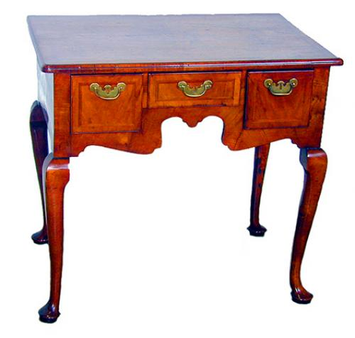 A 19th Century English Walnut Lowboy No. 1591