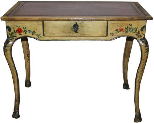 An 18th Century Italian Polychrome Side Table No. 1401