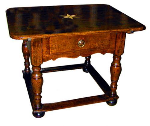 A Fine 18th Century Italian Ash wood Center Table No. 1358