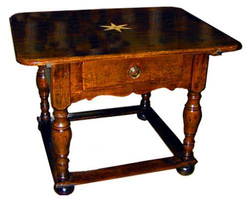 A Fine 18th Century Italian Ash wood Center Table No. 1358