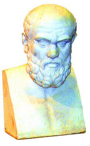 A 19th Century Italian Marble Bust of Socrates No. 1609