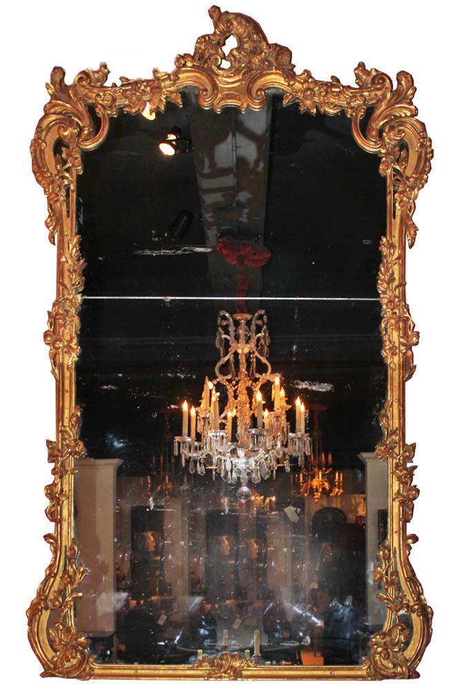An Italian 19th Century Giltwood Mirror No. 1421