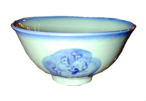A 19th Century Miniature Oriental Hand-Painted Porcelain Bowl No. 1191