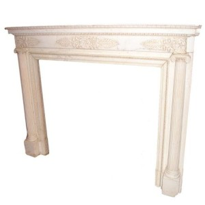 An Early 19th Century French Empire Marble Mantel No. 2867