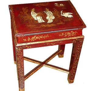 A Diminutive 19th Century English Lacquered Lap Desk No. 2903