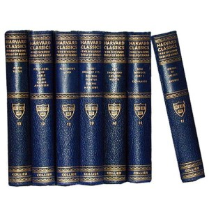 Seven Volumes of Harvard Classics No. 2173