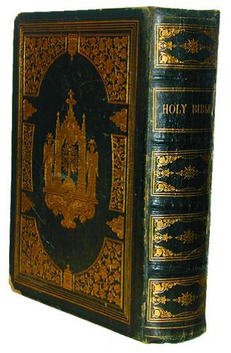 19th Century Holy Bible No. 2253