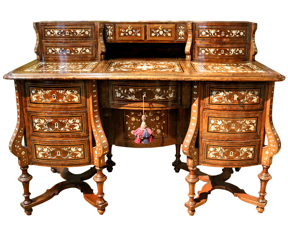 A Magnificent 18th Century Mazarin Writing Desk No. 2037