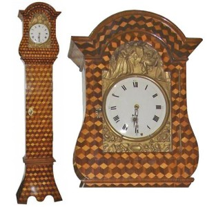 A 18th Century FrenchLouis XV Marquetry Long Case Clock No. 3151