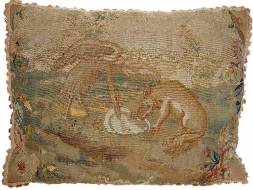 An 18th Century Aubusson Tapestry Cushion No. 2955