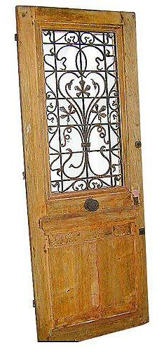 An 18th Century French Oak Single Door No. 1262