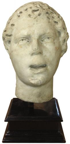 A 4th Century A.D. Marble Roman Head possibly of Emperor Constantine No. 3500