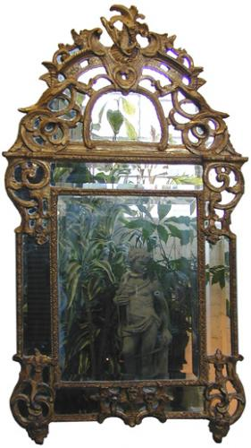 A French Régence Giltwood Mirror No. 2011