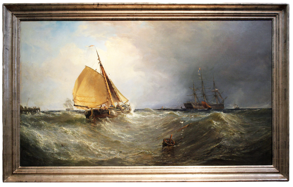 A 19th Century American Maritime Painting No. 2582