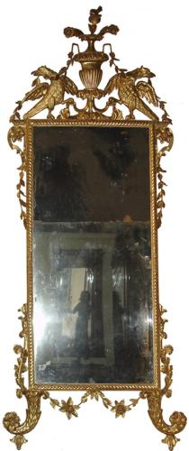 A Sophisticated 18th Century Luccan Pier Mirror No. 3569