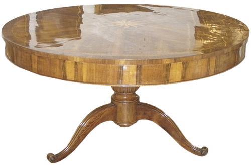 An Italian 18th Century Walnut Center Table No. 3644