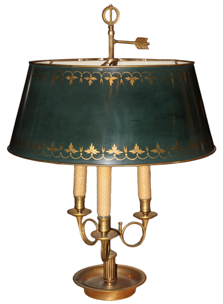 A 19th Century Bouillotte Lamp No. 2765