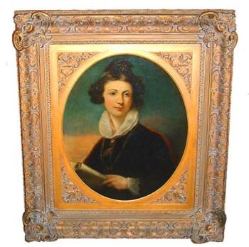 A 19th Century English Portrait of a Lady No. 2369