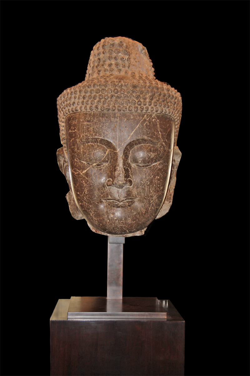 A Rare 5th Century Burmese Temple Colossus of Siddhartha Gautama Buddha No. 2847