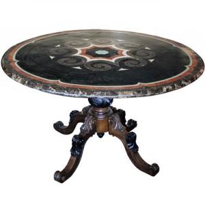 An 18th Century Italian Scagliola Table No. 3926