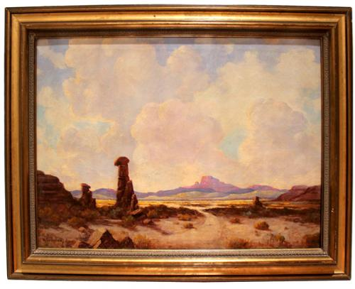 A 19th Century American Oil on Canvas No. 159