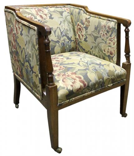 An 18th Century French Louis XVI Walnut Chair No. 4027