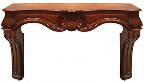 An 18th Century Italian Walnut Fireplace Mantel No. 4202