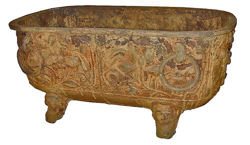 An Ancient Cast Iron Temple Trough No. 1778