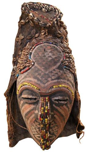 An African Ceremonial Mask No. 1208