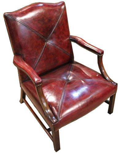 An 18th Century George III Gainsborough Armchair No. 4378