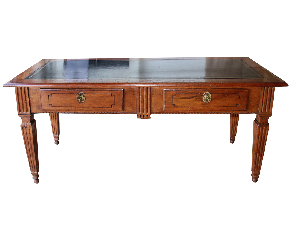 An 18th Century Italian Louis XVI Walnut Writing Desk No. 4442
