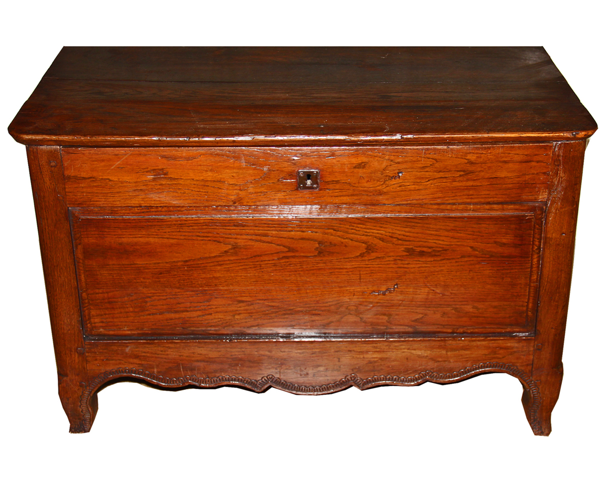 An 18th Century English Ashwood Chest No. 4489