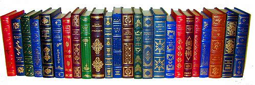 A 20th Century Twenty-four Multicolored and Gilt Trimmed Literary Classics No. 2166