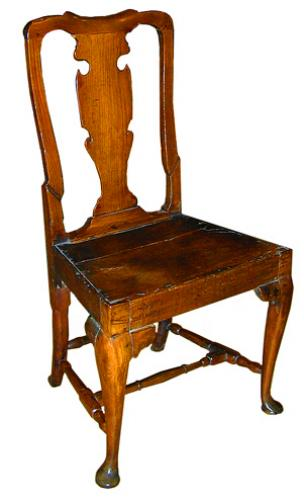 An 18th Century English Ashwood Chair No. 1976