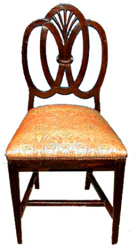 An American Birch Side Chair No. 669