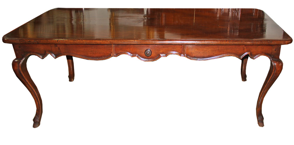 An 18th Century Italian Mahogany Writing Table No. 4549