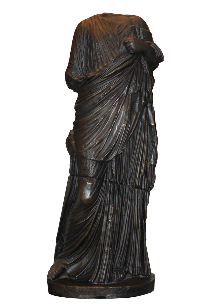 An 18th Century Italian Neoclassical Bronze Figure of a Muse No. 4501