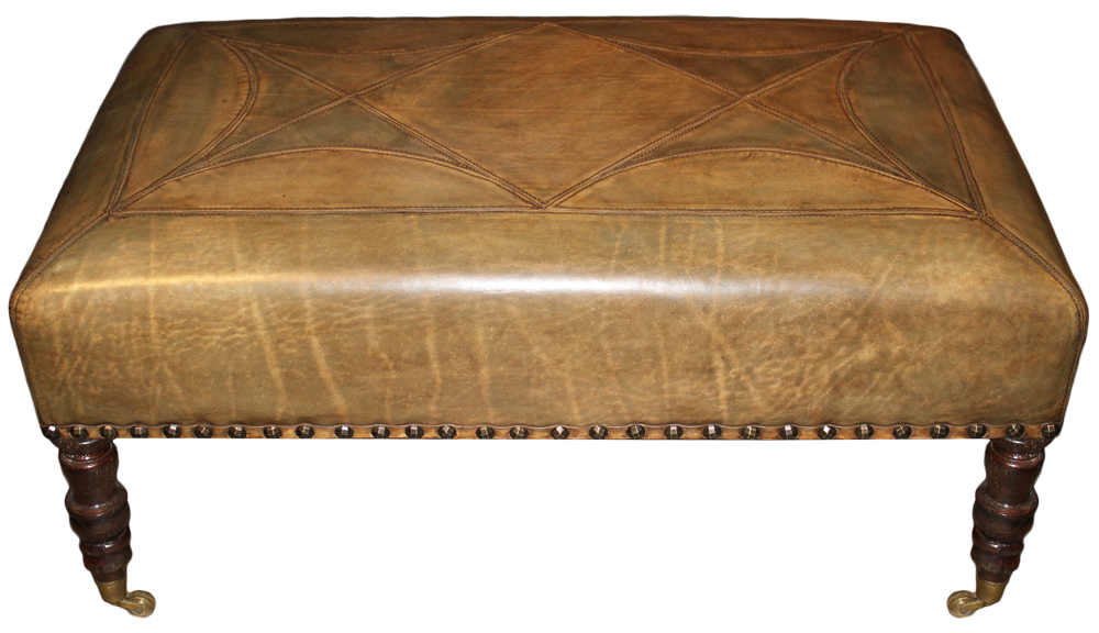 A 19th Century English William IV Mahogany Bench No. 4671