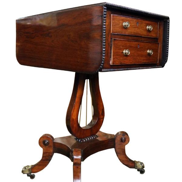 A Fine Regency Rosewood Diminutive  Sofa Table No.4790