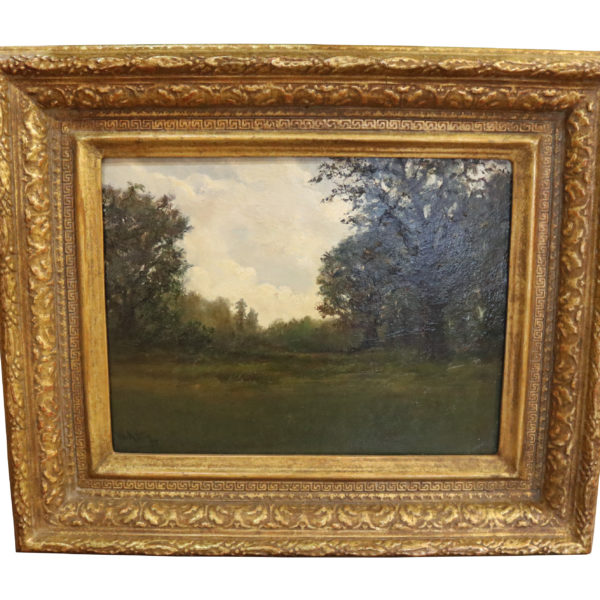 """""""Edge of the Woods"""" Oil Painting by William Keith No.4797"""
