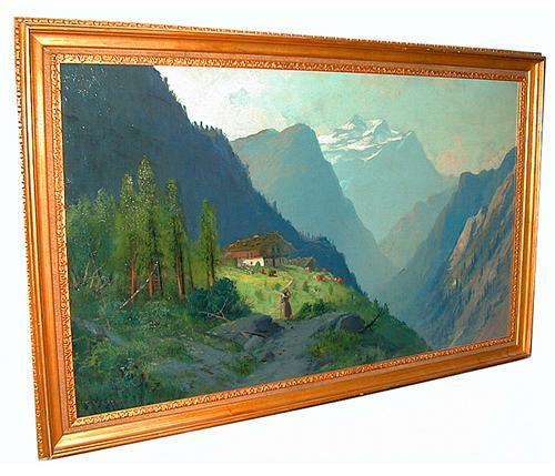 A Fine 19th Century Oil on Canvas No. 151