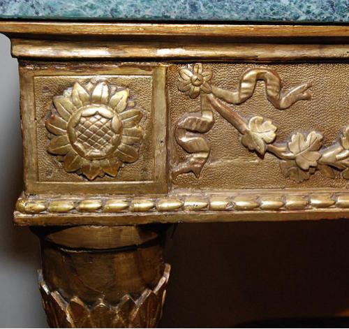 A Fine 18th Century Venetian Louis XVI Giltwood Console No. 1696