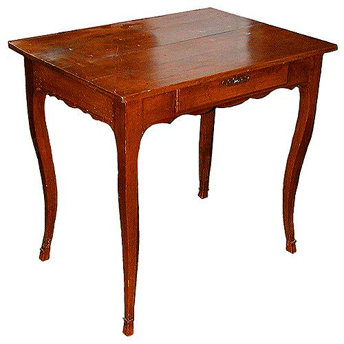 An 18th Century French Louis XV Fruit wood Side Table No. 852
