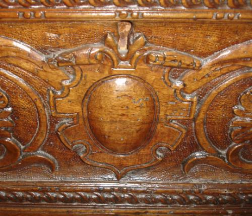An Ornately Carved 17th Century Italian Cassone No. 1010