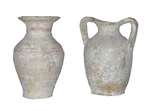 A Pair of Rare Etruscan Vessels No. 962
