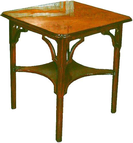 A 19th Century Georgian Revival Mahogany Side Table No. 2688