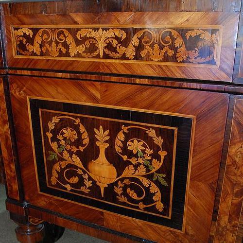 A Magnificent Pair of 18th Century Italian Maggiolini Commodes No. 2406